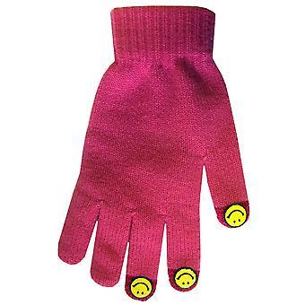 Boss Tech BTP-GLV-SMLPNK Knit Touchscreen Gloves, Texting Gloves, Tech Gloves (P