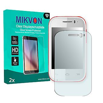 Alcatel One Touch Pop Fit Screen Protector - Mikvon Clear (Retail Package with accessories)