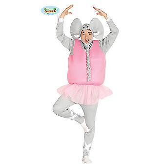Ballerina elephant ballet dancing pachyderm JGA mens costume