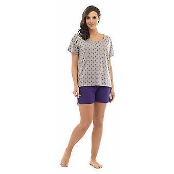 Дамы, том Фрэнкс звезды выгорания футболку Топ & шорты для пижамы набор Lounge износа