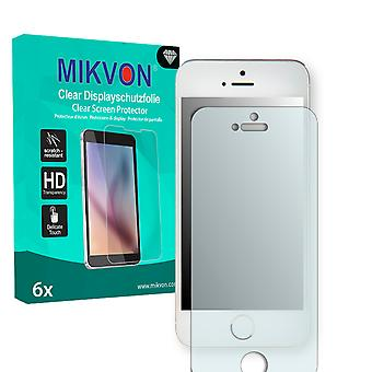 Apple iPhone 5C Screen Protector - Mikvon Clear (Retail Package with accessories)