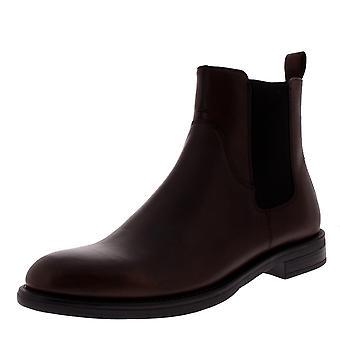 Womens Vagabond Amina Leather Espresso Chelsea Closed Toe Ankle Boots