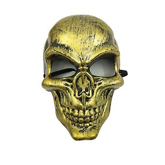 Schedel Purge masker maskerade partij partij halloween-geel