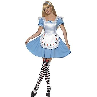 Deck of Cards Girl Costume, UK Dress 16-18
