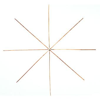SALE - 50 Wire Stars for Beadwork - 18cm | Wire Christmas Decorations