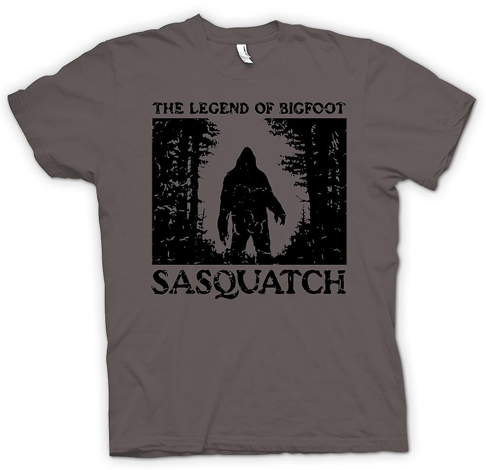 Herren T-Shirt - Sasquatch Yeti Bigfoot-Sichtung - Kryptozoologie
