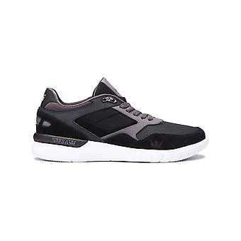 Supra Black-Charcoal-White Winslow Shoe