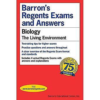Barron's Regents tentor och svar: biologi--livsmiljön