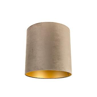 QAZQA Shade 40/40/40 Velvet Taupe with Gold