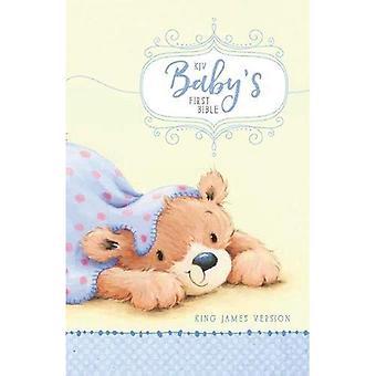 Première Bible KJV bébé, couverture rigide, bleu