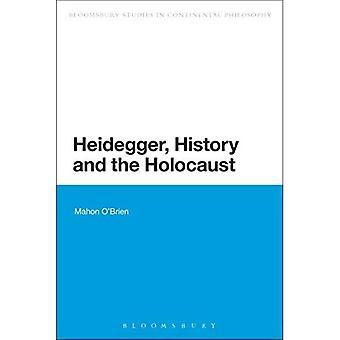 Heidegger, a história e o Holocausto (Bloomsbury estudos em filosofia Continental)