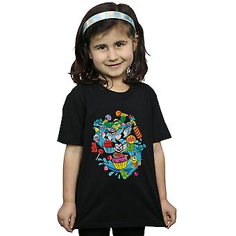 DC Comics meisjes Teen Titans gaan Candy Mania T-Shirt