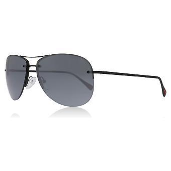 Prada Sport PS50RS 7AX5L0 Black 50RS Pilot Sunglasses Lens Category 3 Lens Mirrored Size 59mm