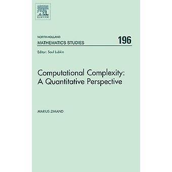 Computational Complexity A quantitativer Sicht von Zimand & Marius