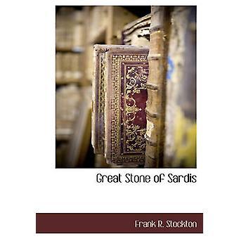 Stor sten Sardis av Stockton & Frank R.