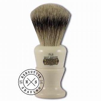Simpsons Polo 8 Best Badger Hair Shaving Brush in Imitation Ivory
