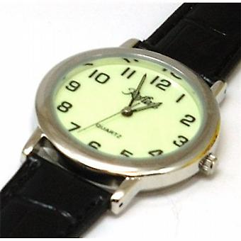 Refleks Super Lumibrite urskive sort Herre Watch LUM001