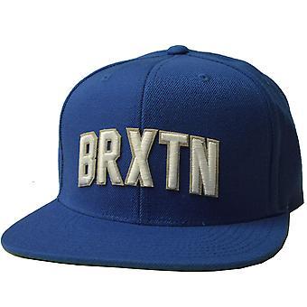 Brixton Hamilton Snapback Gorra azul
