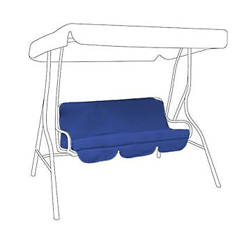 Gardenista® Blue Replacement Canopy for 3 Seater Swing Seat