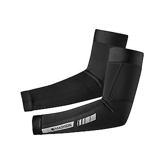 Madison Black 2014 Sportive Thermal Arm Warmers - Pair