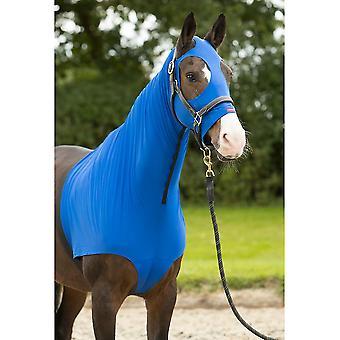LeMieux Lemieux Poney/cheval Lycra Hood - Benetton Blue