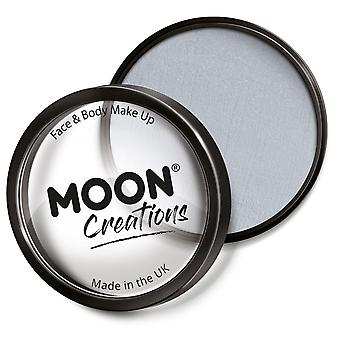 Moon Creations - Pro Face & Body Paint Cake Pots - Light Grey