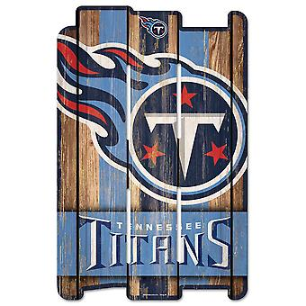 Wincraft PLANK trä Sign trä Sign-Tennessee Titans