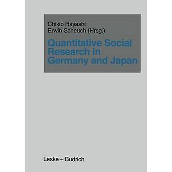 Quantitative Sozialforschung in Deutschland und Japan von Hayashi & Chikio