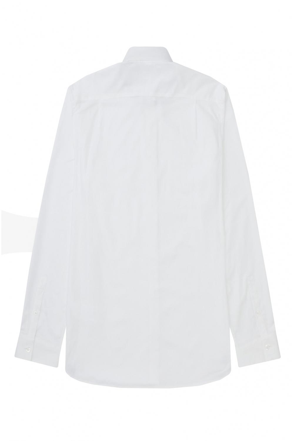 Fred Perry Oxford Long Sleeved Shirt White