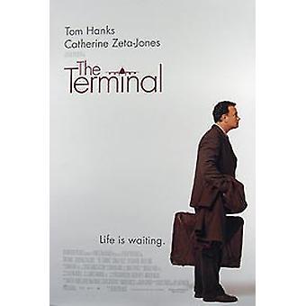The Terminal (Double Sided Regular) Original Cinema Poster (Double Sided Regular) Original Cinema Poster (Double Sided Regular)