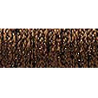 Kreinik Blending Filament 1 Ply 50 Meter 55 Yards Hallo Lustre Bronze Bf 052Hl