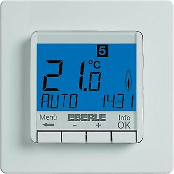 Room thermostat Flush mount 7 day mode 5 up to 30 °C Eberle