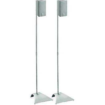 Speaker stand Rigid Max. distance to floor/ceiling: 103 cm Vogel´s Silver 1 pair