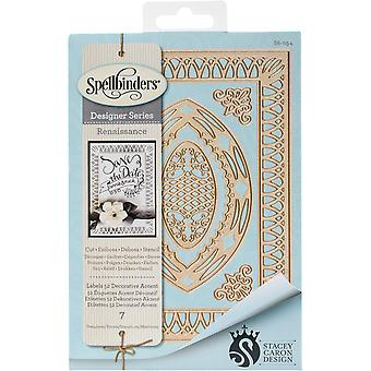 Spellbinders Nestabilities Dies-Labels 52 Decorative Accent S6054