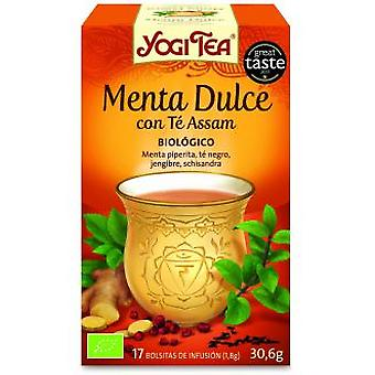 Yogi Tea Yogi Tea  Sweet Mint with Assam  17 b. bio