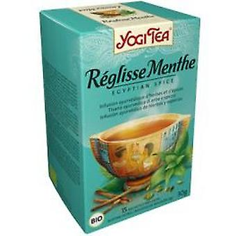 Yogi Tea Mint Infusione Di Liquirizia 15 Bustine