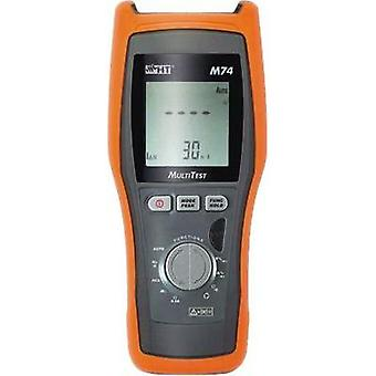 Electrical tester HT Instruments M74 Calibrated to ISO standards
