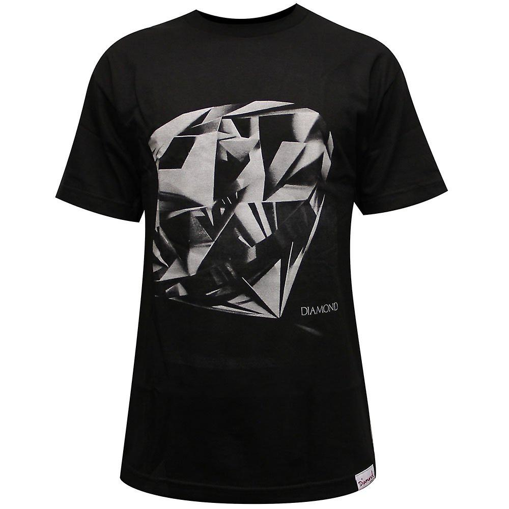 Diamond Supply Co Diamond Cut T-shirt Black