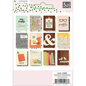 Reset Girl Double-Sided Pocket Cards 3