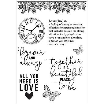 P.S. I Love You Clear Stamps 6