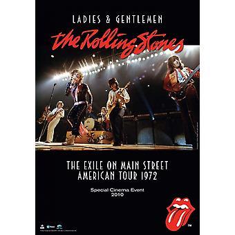 Meine Damen und Herren der Rolling Stones-Film-Poster (11 x 17)