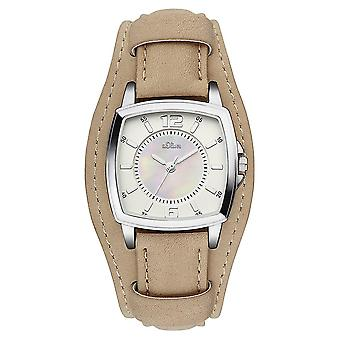s.Oliver women's watch wristwatch leather SO-3166-LQ