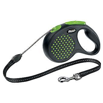 Flexi Design Cord Green Dot Medium 20kg - 5m (16ft)