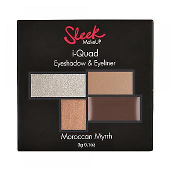 Sleek Make Up Shadow Palette Moroccan Myrrh I-Quad (Woman , Makeup , Eyes , Eyeshadows)