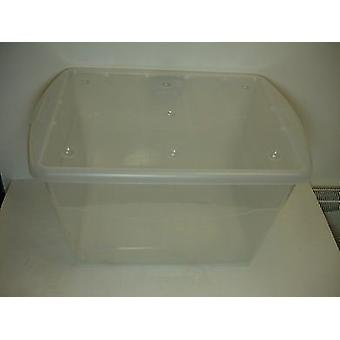 16ltr Eco Base Storage Box Clear