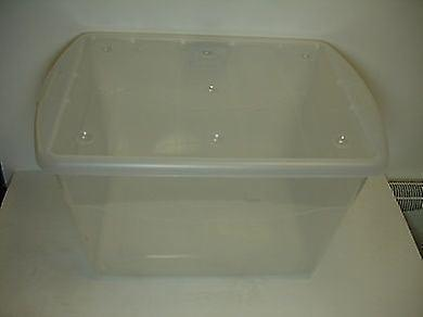 16ltr Eco Base Storage Box Clear