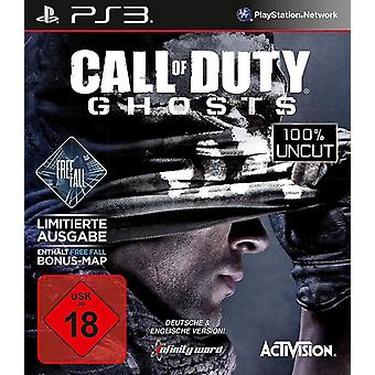 Call Of Duty fantasmas - queda livre Edition PS3 jogo