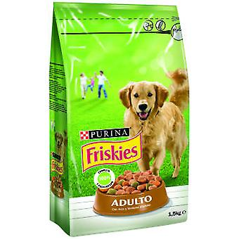 Friskies Adult Poultry and Vegetables (Dogs , Dog Food , Dry Food)