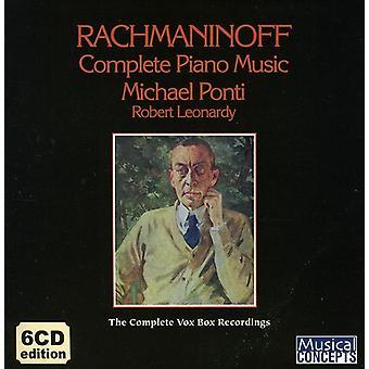 S. Rachmaninoff - Rachmaninoff: Complete Piano Music [CD] USA import