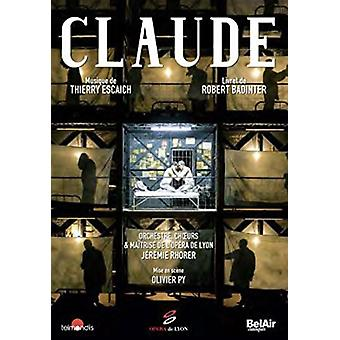 Thierry Escaich - Claude [DVD] USA import